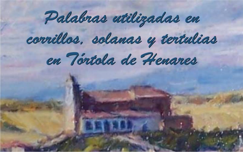 Palabras utilizadas en corrillos en Tórtola de Henares